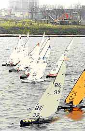 Gosport Model Yacht Club racing