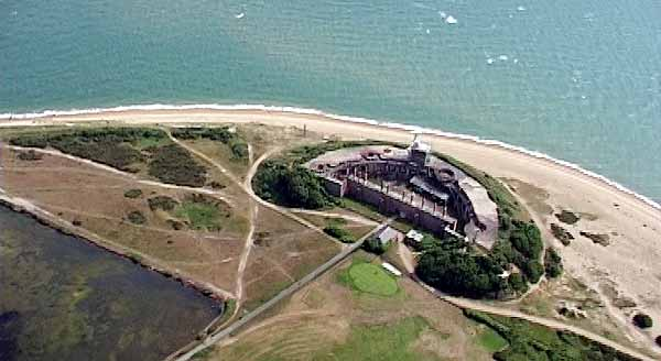 Gosport Forts Gilkicker arial_02