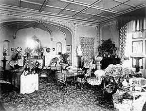 Bay House interior 1920's