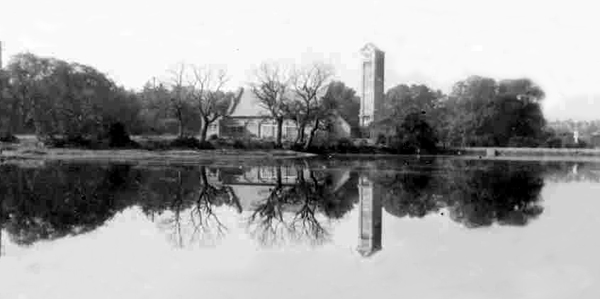 Kickergill Monument from Alver Lake 1940's